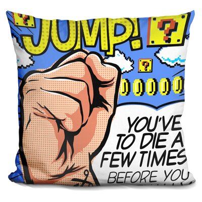 Die A Few Times Throw Pillow