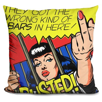 I Dont Like Jail Throw Pillow