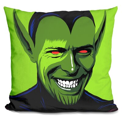 Loving the Alien Throw Pillow