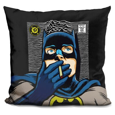 Dark Squa Throw Pillow