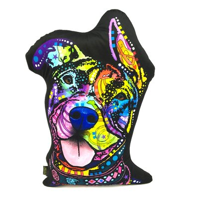 Rescue Dog Shaped Throw Pillow
