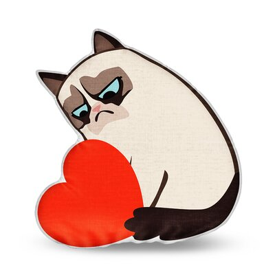 What is This Grumpy Cat Throw Pillow