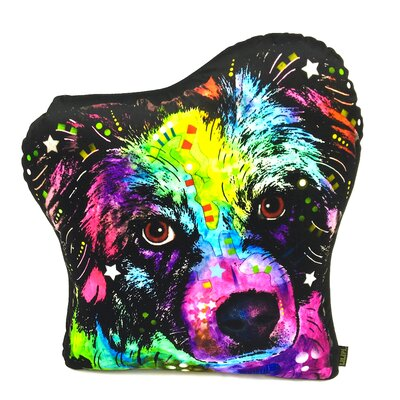 Australian Shepherd Shaped Throw Pillow