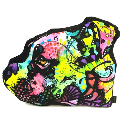 Boxer Shaped Throw Pillow