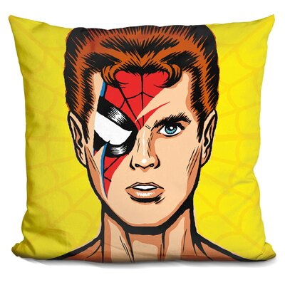 Spiders from Mars Classic Edit Throw Pillow