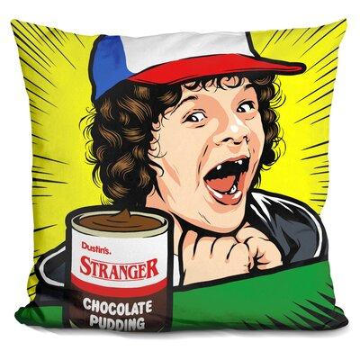 Stranger Pudding Throw Pillow
