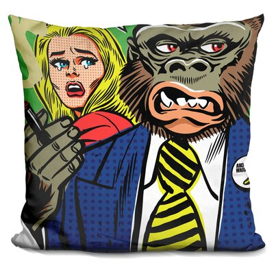 The Problem with the World Throw Pillow