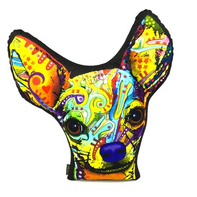 Chihuahua Shaped Throw Pillow