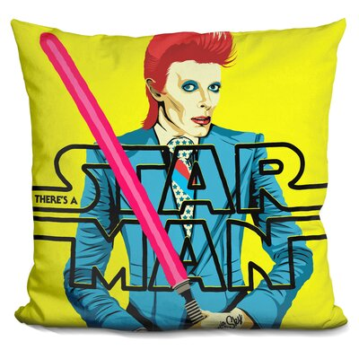 Theres A Starman Throw Pillow