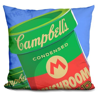 Welcome to the Warhol Zone Throw Pillow
