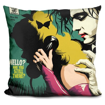 Wrong Number Throw Pillow