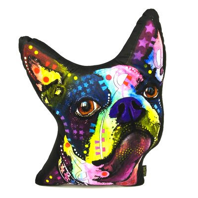 Cordray Terrier Shaped Throw Pillow