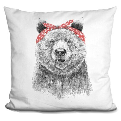 Penman Break the Rules Throw Pillow