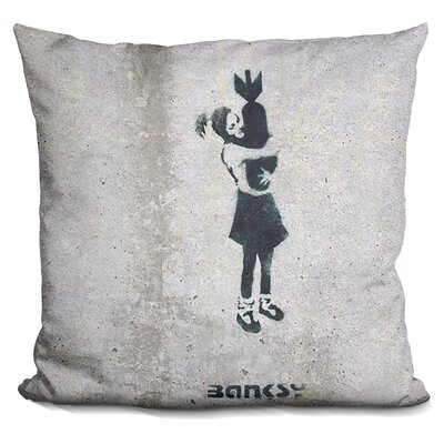 Bomb Hugger Throw Pillow