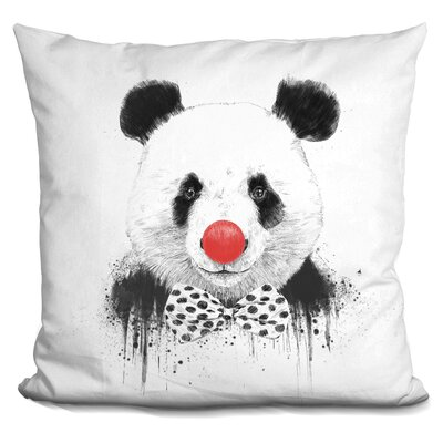 Penner Clown Panda Throw Pillow
