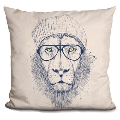 Penniman Cool Lion Throw Pillow