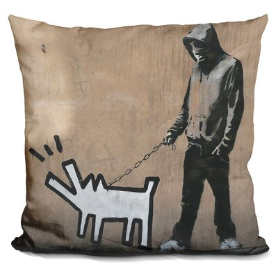 Choose Your Weapon Keith Haring Throw Pillow