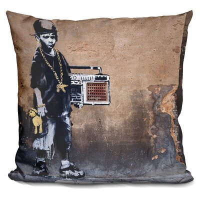 B Boy Throw Pillow