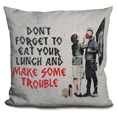Dont Forget Your Lunchur Lunch Throw Pillow