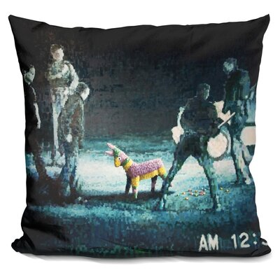 Lapd Pinata Throw Pillow