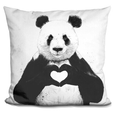 Hartshorn All You Need Is Love Throw Pillow