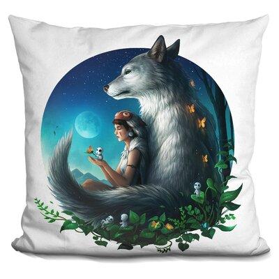 Mononoke Safe Throw Pillow