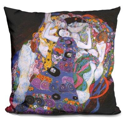 Bellar The Virgin Throw Pillow