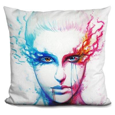 Bipolarity Throw Pillow