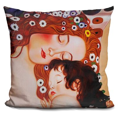 Classic Mother and Child Throw Pillow