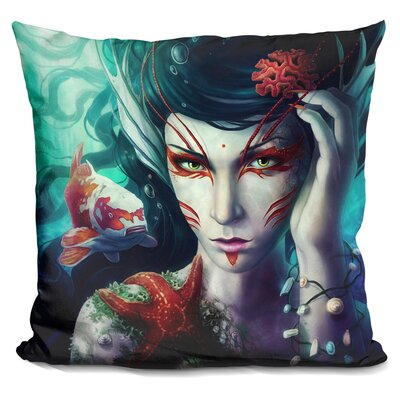 The Deep is Mine Throw Pillow