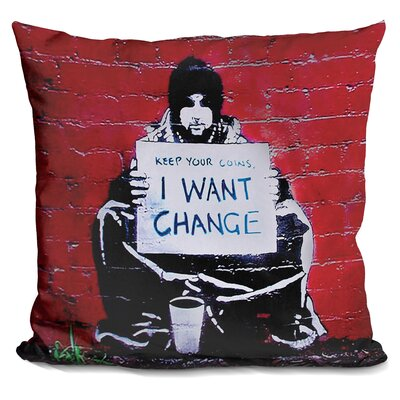 Kaneshiro Keep Your Coins I Want Change Throw Pillow