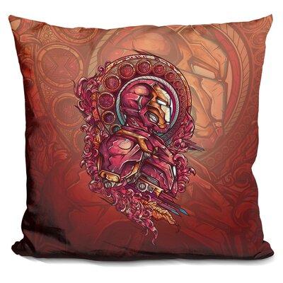 Iron Rage Throw Pillow