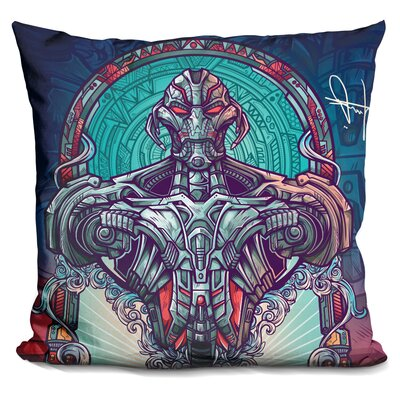 Two Sides of Power I Throw Pillow