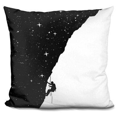 Kersh Night Climbing Throw Pillow