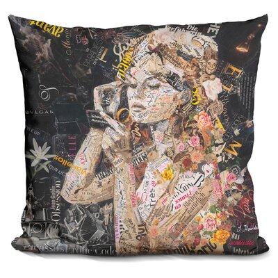 Fille De Fleur Throw Pillow