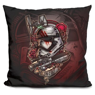 Warrior Rg Throw Pillow