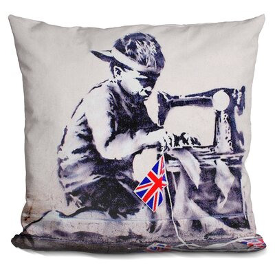 Slave Labour Child Labor Throw Pillow