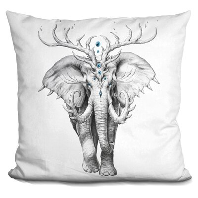 Elephant Soul Throw Pillow
