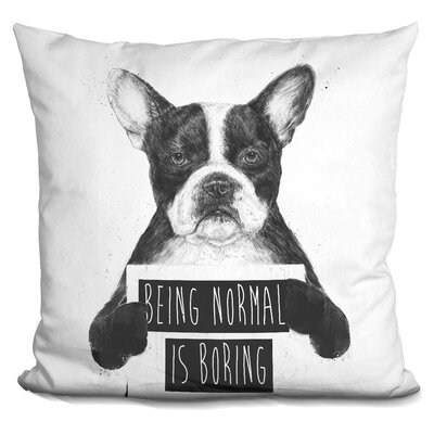 Pavonis Being Normal Isboring Throw Pillow