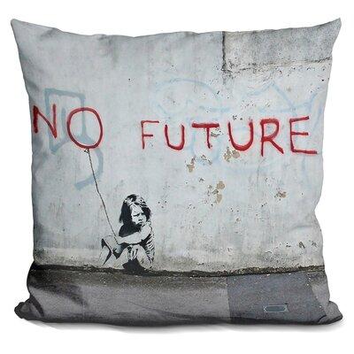 No Future Throw Pillow