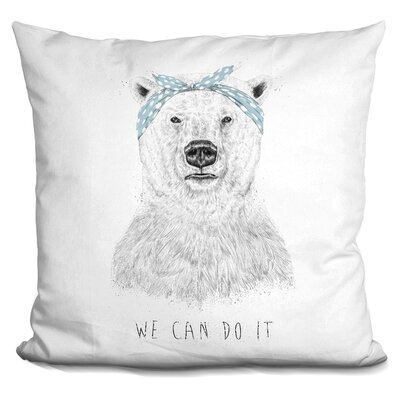 Pearcy We Can Do It Throw Pillow