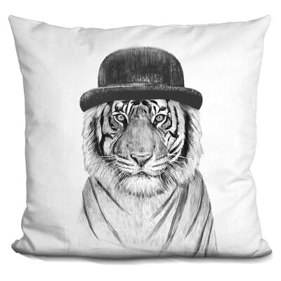 Herrman Welcome to the Jungle Throw Pillow