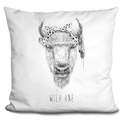 Hershberger Wild One Throw Pillow