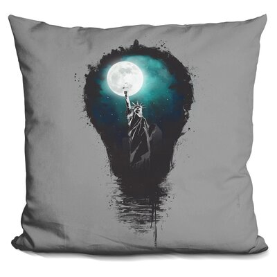 Big City Lights Throw Pillow