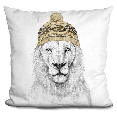 Throw Pillow Color: Golden