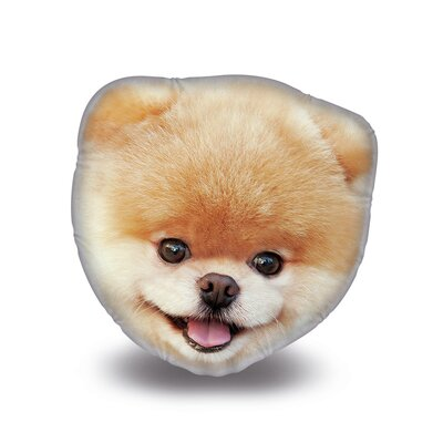 Picture Perfect Boo Throw Pillow