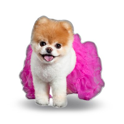 Tutu Boo Throw Pillow