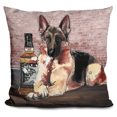 Jack and Shepherd Throw Pillow