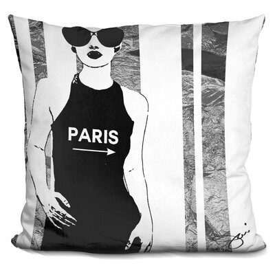 Isaiah Paris This Way Throw Pillow