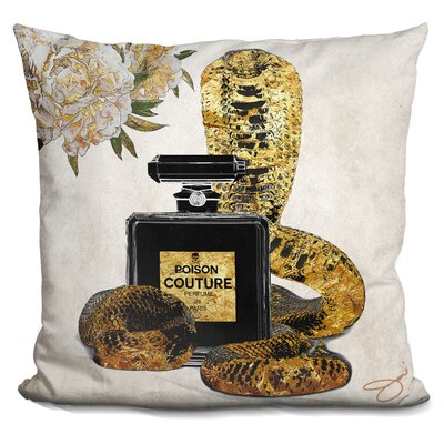 Bladwell Poison Couture Throw Pillow
